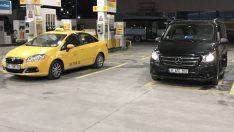 Taksicilerin yerli UBER uygulaması @taksi hizmete girdi