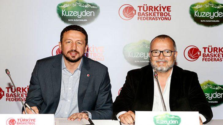 Türkiye Basketbol Federasyonu Resmi Su Sponsoru Kuzeyden Oldu