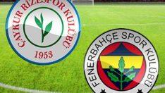 Fenerbahçe-Rizespor