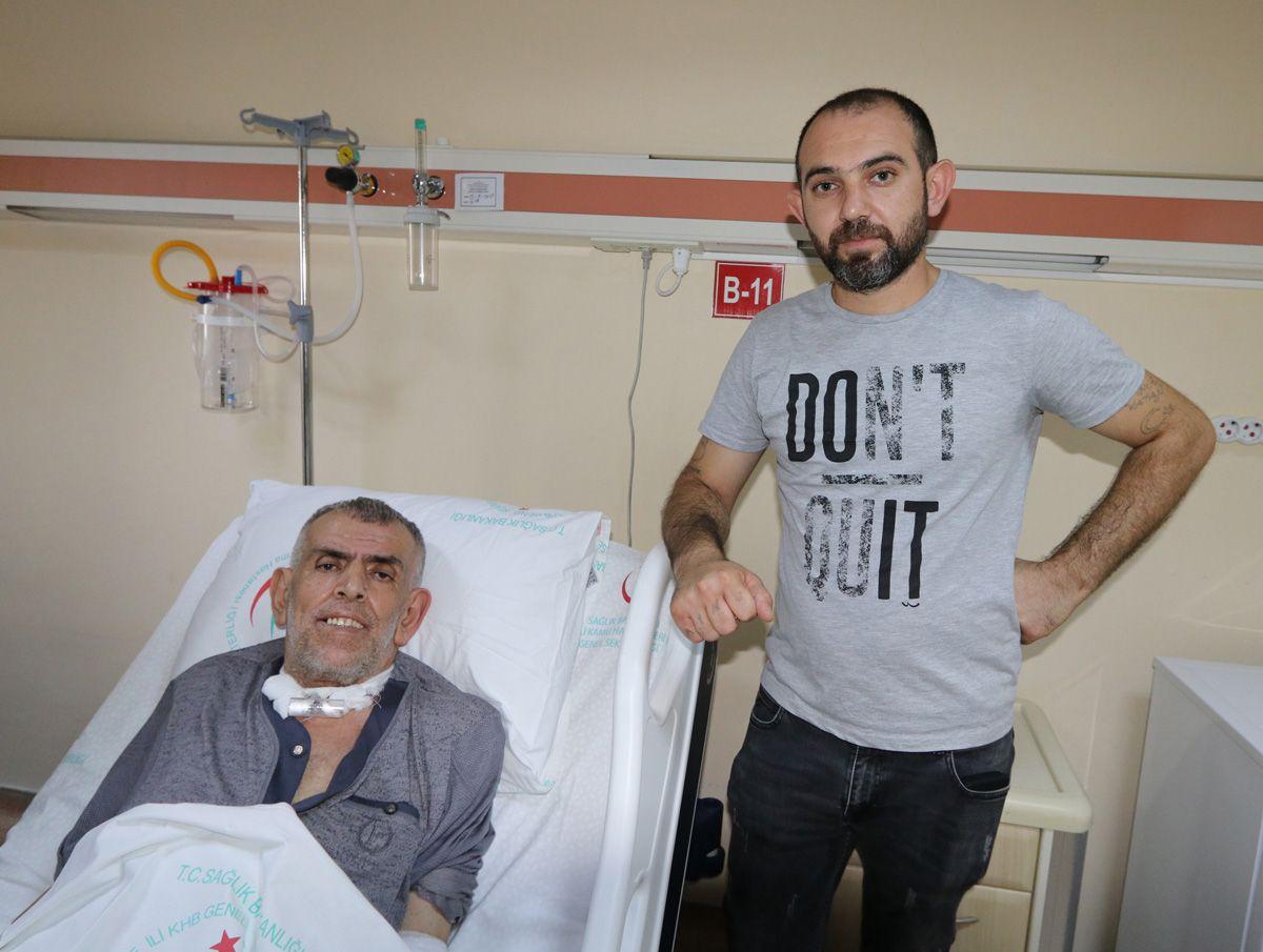 Aort damarı yırtılan KOAH hastasını kurtarmayı başardılar