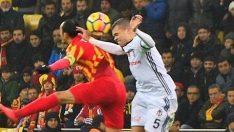 Beşiktaş Kayseri maçı İstanbul'da