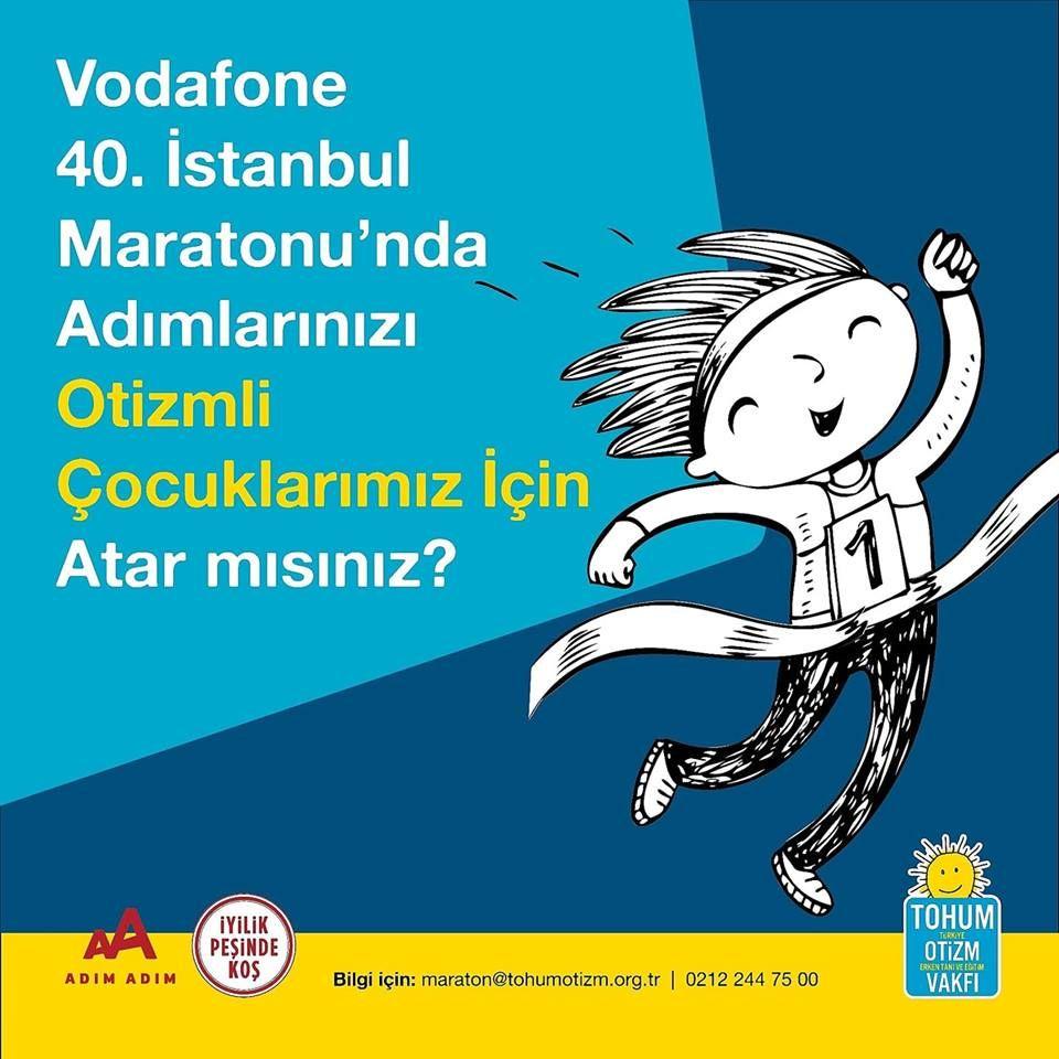 İstanbul Maratonu'nda Adımlar Otizmli Çocuklar için Atılacak
