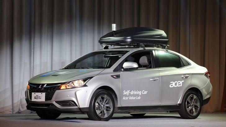 Acer Sürücüsüz Otomobilini Tanıttı