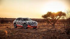 Audi e-tron, Savana Testlerini Geçti