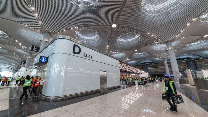 Yeni Havalimanında 3 Bin Kişilik ORAT Denemelerinin Sonuncusu Tamamlandı