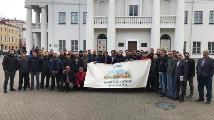 Vaillant Türkiye Yetkili Satıcıları Beyaz Rusya'nın Başkenti Minsk'te Buluştu