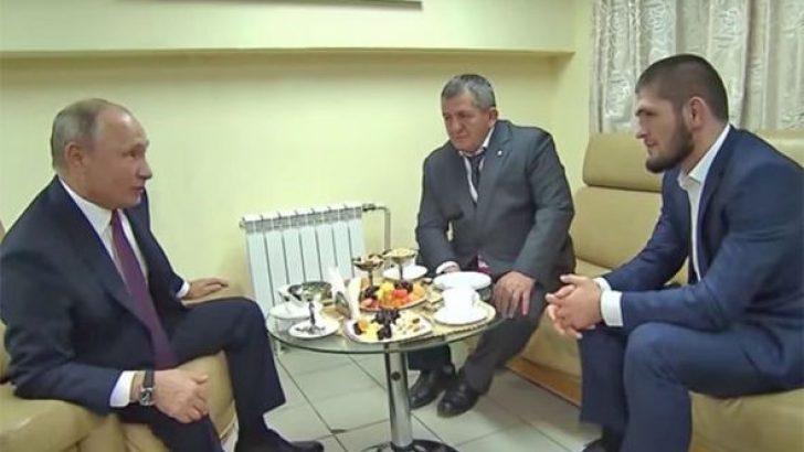 Putin Nurmagomedov'u kabul etti