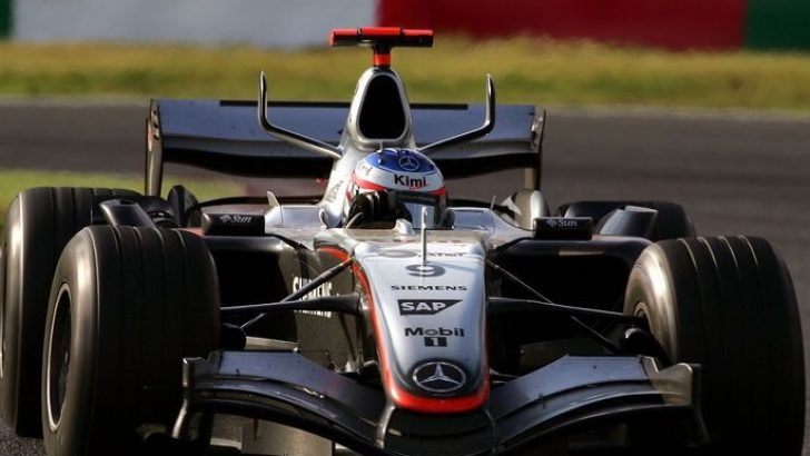 Formula1 Meksika'da