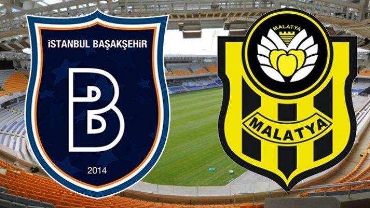 Başakşehir Malatyaspor'u ağırlıyor