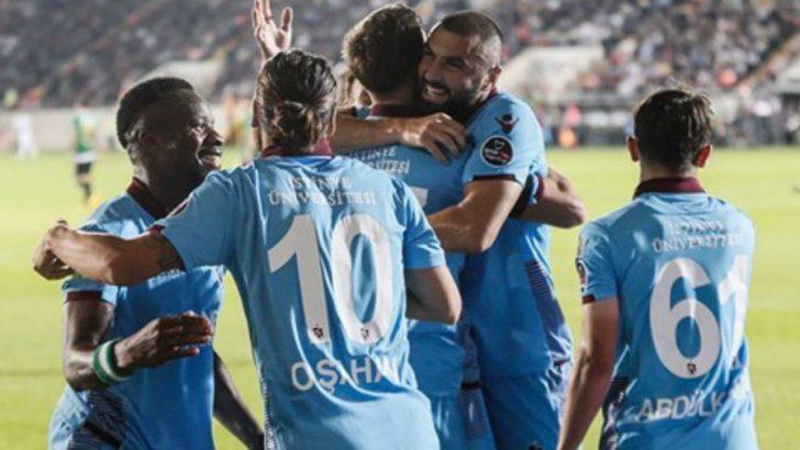 Trabzonspor'un Deplasman keyfi