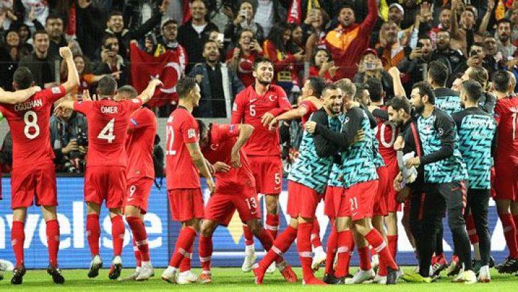A Milli Futbol Takımı kadrosu açıklandı