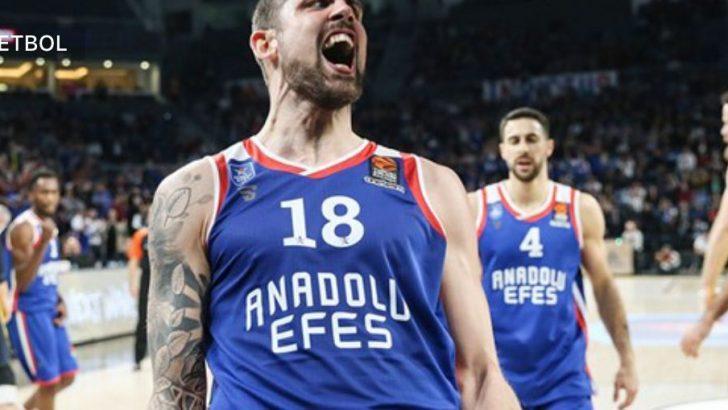 Süper maç Anadolu Efes'in