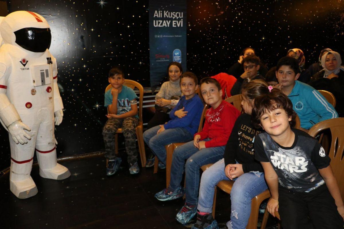 Ali Kuşçu Uzay Evinden Dünya Uzay Haftasında Uluslararası Gurur