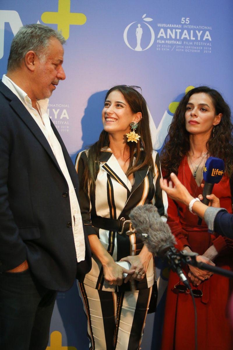 Antalya Film Festivali bütün heyecanı ile sürüyor. İşte en heyecanlı anlar.