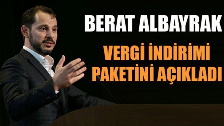 Berat Albayrak'tan vergide büyük indirim paketi müjdesi!