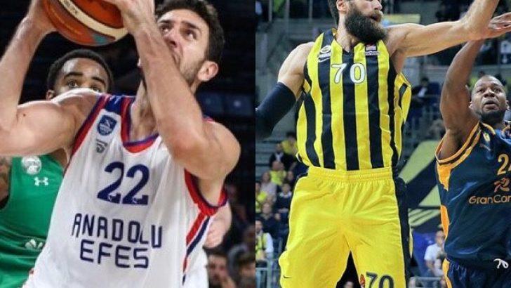Anadolu Efes-Khimki / Zalgiris-Fenerbahçe