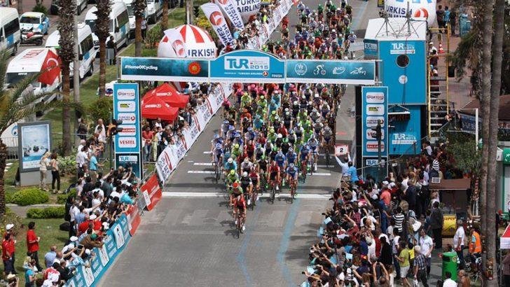 Cumhurbaşkanlığı Türkiye Bisiklet Turu geleneksel Vestel City ziyaretini tamamladı