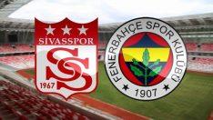 Fenerbahçe Sivasspor deplasmanında