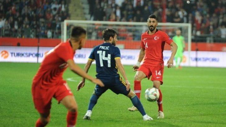 A Milli Futbol Takımımız dan golsüz prova