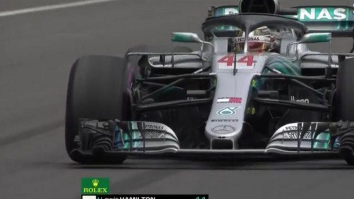 Formula1'de Hamilton ŞAMPİYON