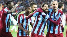 Trabzonspor seyircisini gol'e doyuruyor