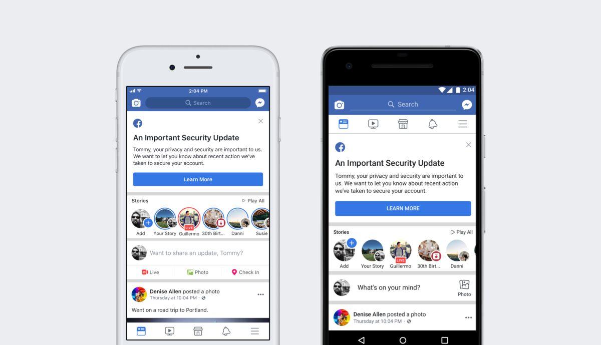 Facebook'tan güvenlik açığı ile ilgili güncel açıklama