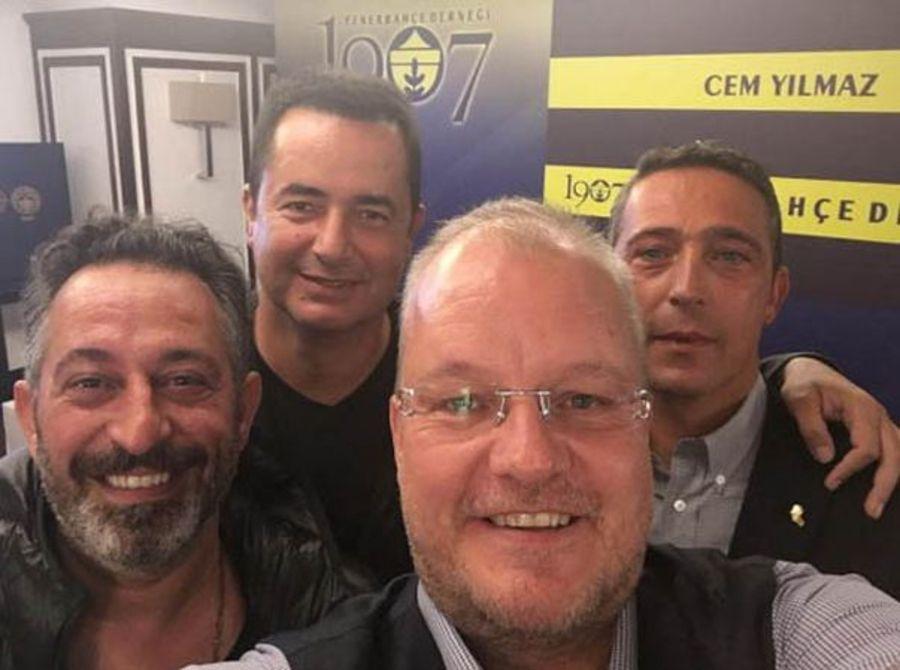 Fenerbahçe'den Acun Ilıcalı sürprizi