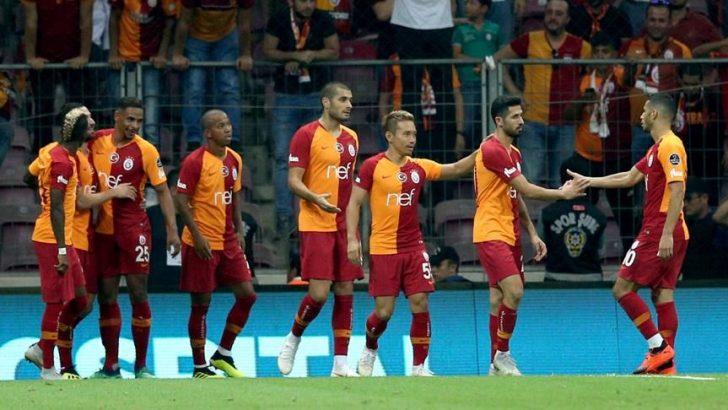 Galatasaray'ın kadrosu belli oldu