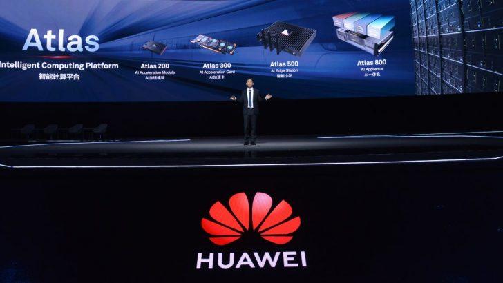 HUAWEI üstün bilgi işlem gücü ile AI'ın geleceğini hazırlıyor