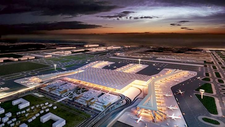 İstanbul Yeni Havalimanı için tarihi gün bugün