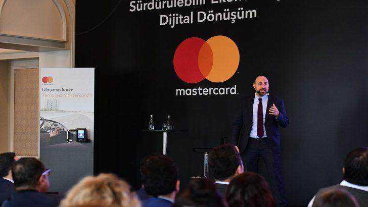 """Mastercard """"Sürdürülebilir ekonomi için dijital dönüşüm"""""""