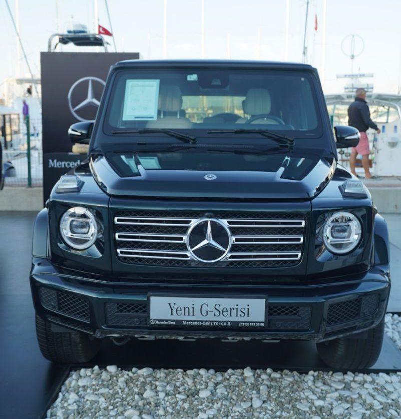Alaçatı Uluslararası Fishing Turnuvası'nda Mercedes-Benz G-Serisi ve X-Class rüzgarı