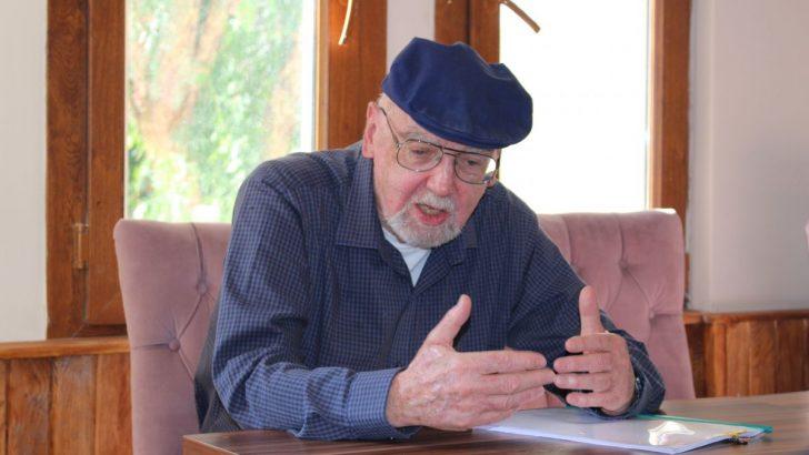 Yaşayan en önemli bilim insanlarından Prof. Robert Langlands OpenCampus'ü ziyaret etti