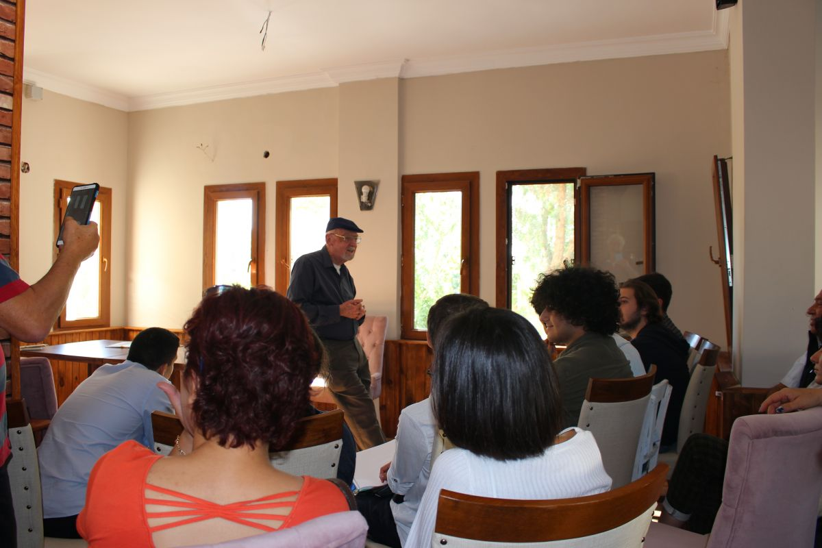 Prof. Robert Langlands OpenCampus'ü ziyaret etti