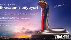 TİM'den İstanbul Yeni Havalimanı'na Dünya Çapında Dev Kampanya