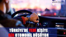 Türkiye'de yedi kişiye bir otomobil düşüyor