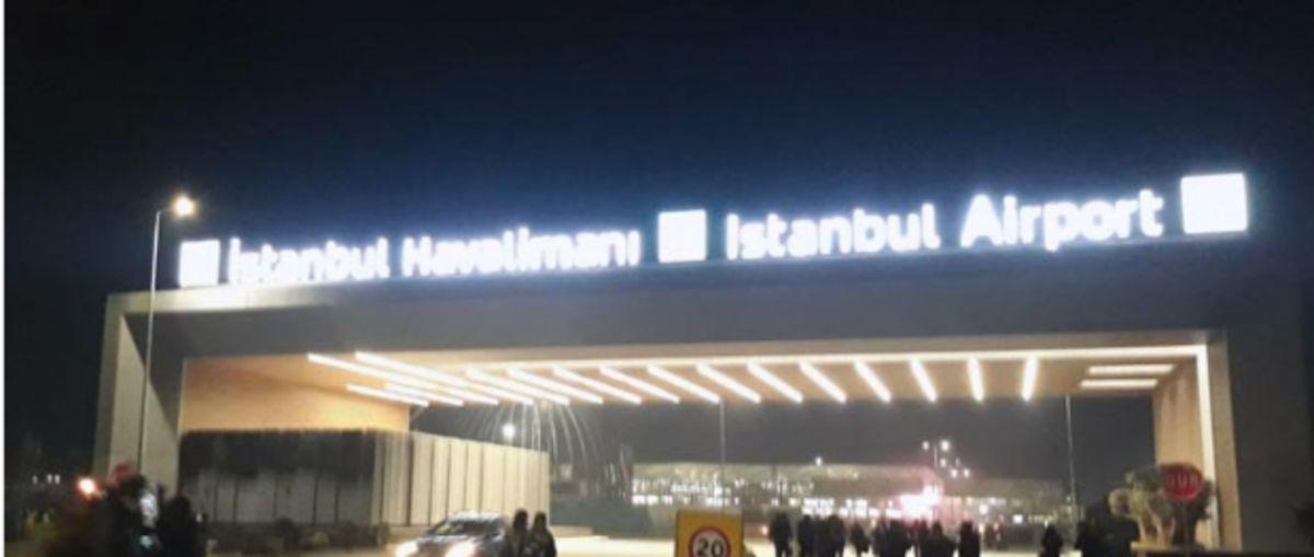 Yeni havalimanının adı ne oldu? Tabeladaki isme bakın!.