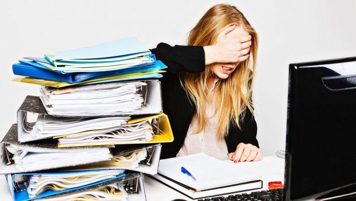 Yoğun İş Yükü ve Stres Dikkatsizlik ve İş Kazalarını Beraberinde Getiriyor