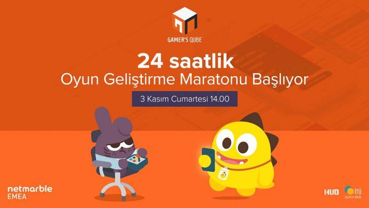 24 Saatlik Oyun Geliştirme Maratonu Gamer's Jam İTÜ'de Başlıyor