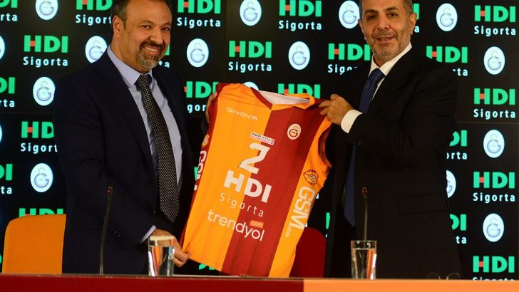 HDI Sigorta Galatasaray Kadın Voleybol Takımı'nın İsim sponsoru