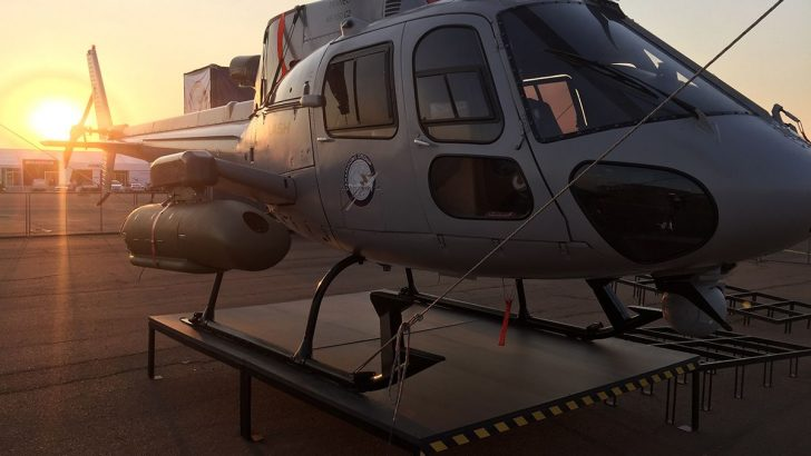 Türk Savunma Şirketi Helikopterin Taban Zırhını Üretecek