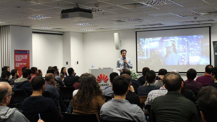 HUAWEI Türkiye'nin Ar-Ge Merkezi'nde DevOps Etkinliği Gerçekleştirildi
