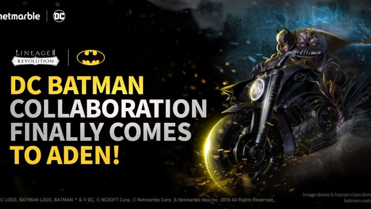 Batman, Lineage 2: Revolution'a Katılıyor