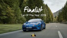 """2019 Yılın Otomobili """"Coty"""" Finalisti Alpine A110"""