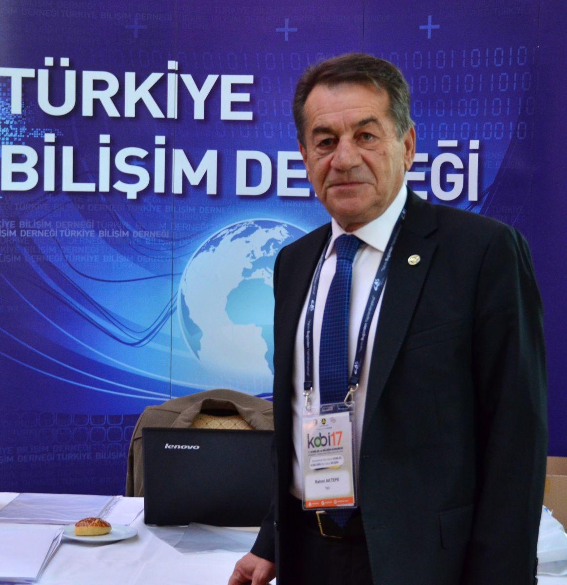 35'inci Bilişim Kurultayı Başlıyor - TBD Genel Başkanı Rahmi Aktepe