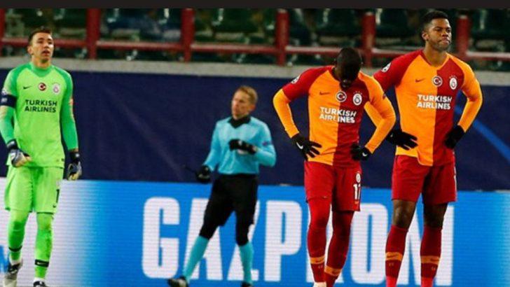 Galatasaray için Şampiyonlar Ligi bitti