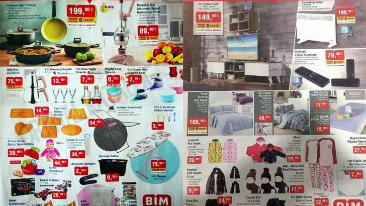 BİM Marketleri 9 Kasım 2018 Aktüel Ürünler Kataloğu