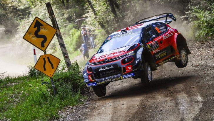 CITROËN C3 WRC SEZONUN SON RALLİSİNİ PODYUMDA BİTİRDİ