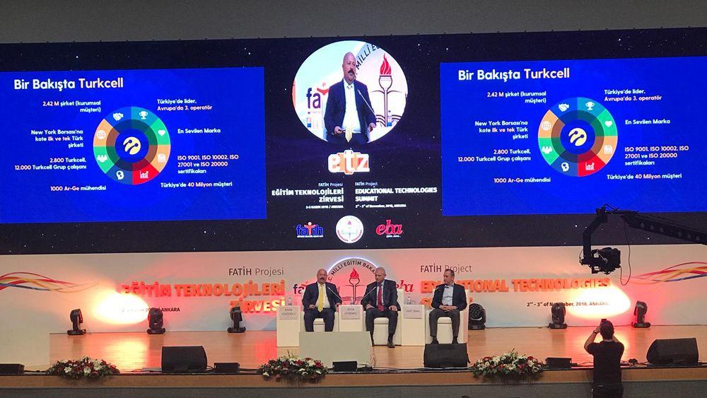 Eğitim 2023 hedeflerine Turkcell'den tam destek