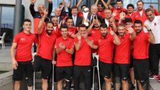 Dünya kupası Finalistlerine TFF'de Yemekli Kutlama